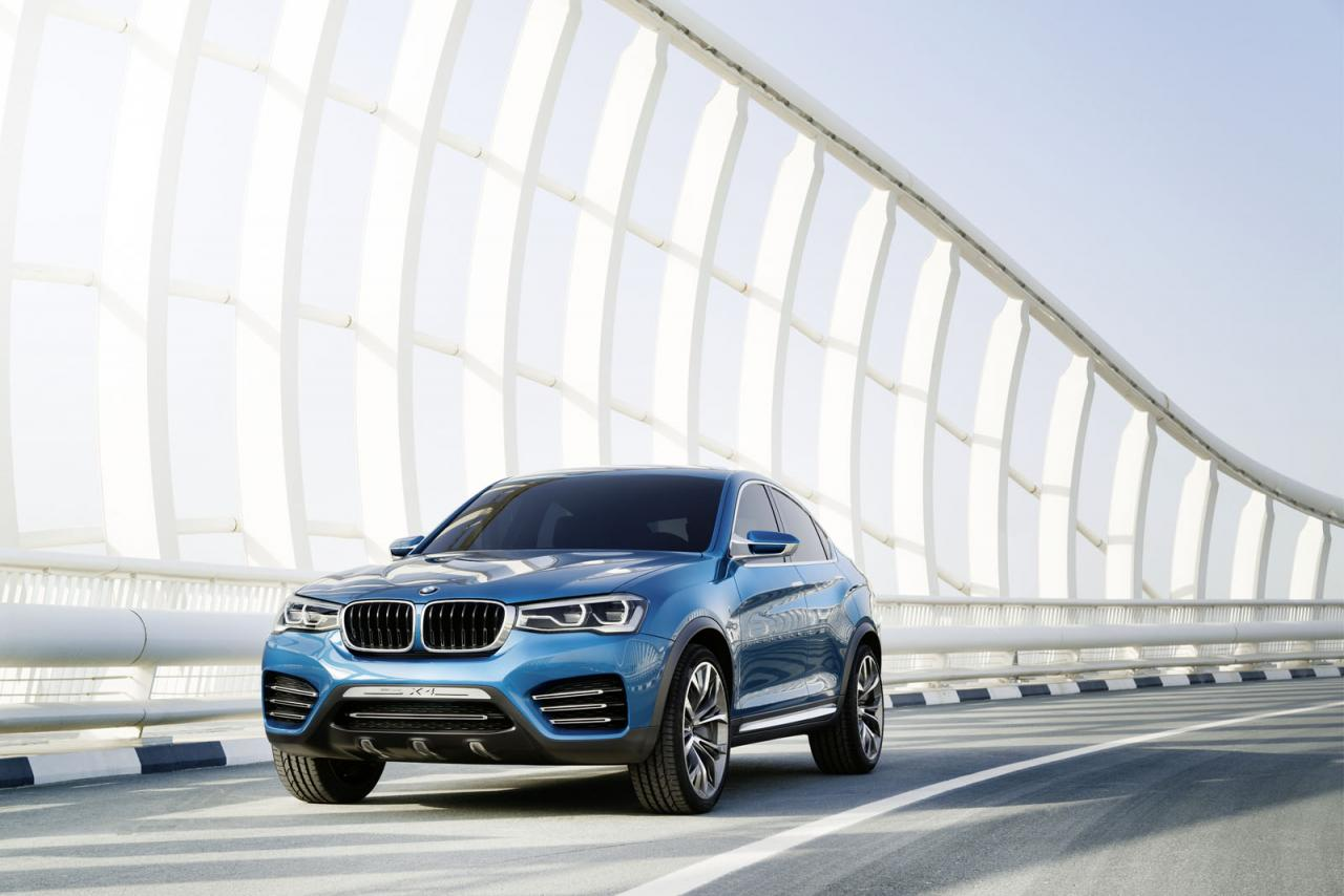 BMW nos enseña nuevas fotos del X4 Concept