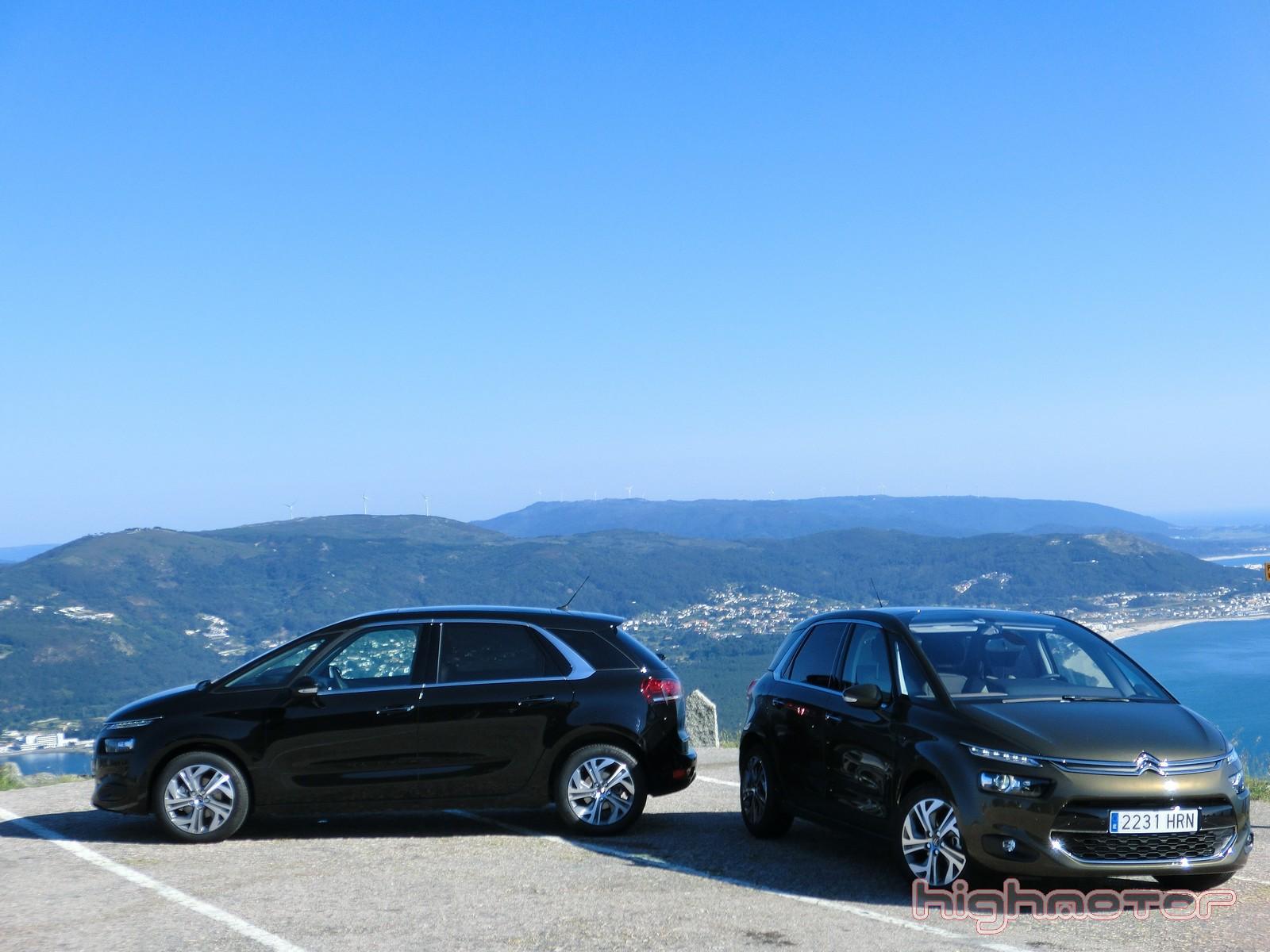 Citroën C4 Picasso 2013, presentación y prueba en Baiona