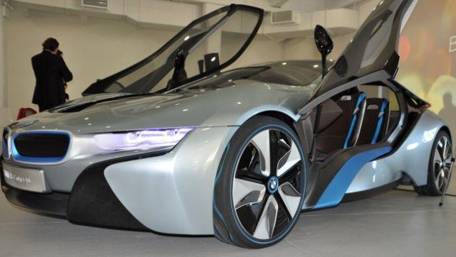 El BMW i8 comenzará a venderse unas semanas después que el i3