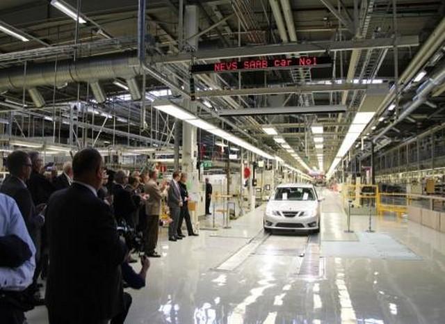 Saab vuelve a fabricar el 9-3