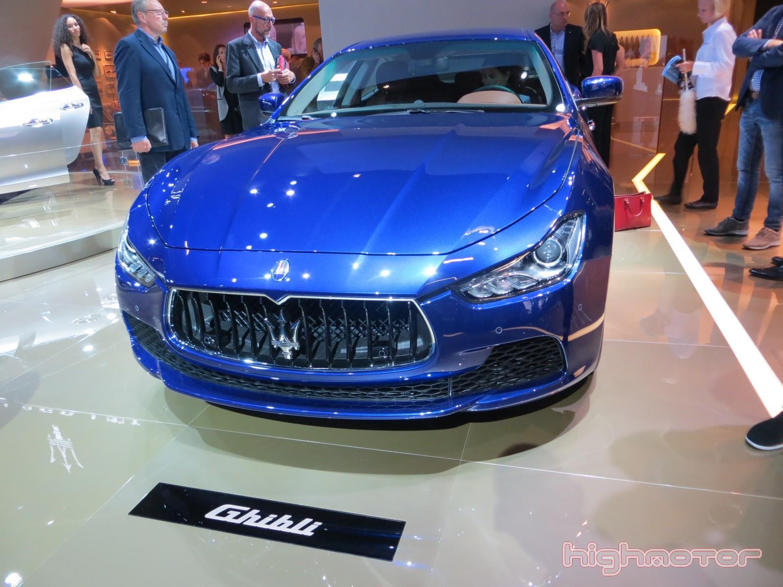 Maserati en el Salón de Frankfurt 2013