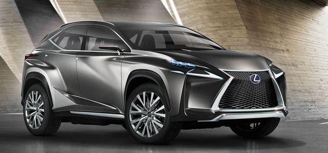 El Lexus LF-NX Concept el concepto más atrevido de Frankfurt
