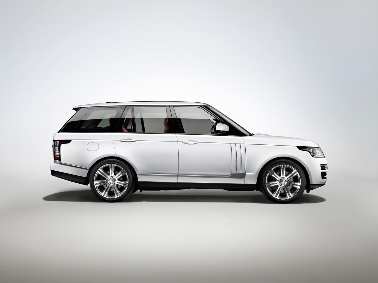 Más espacio: Nuevo Range Rover LWB