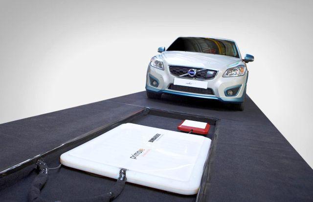 Volvo experimenta con la carga inductiva para eléctricos