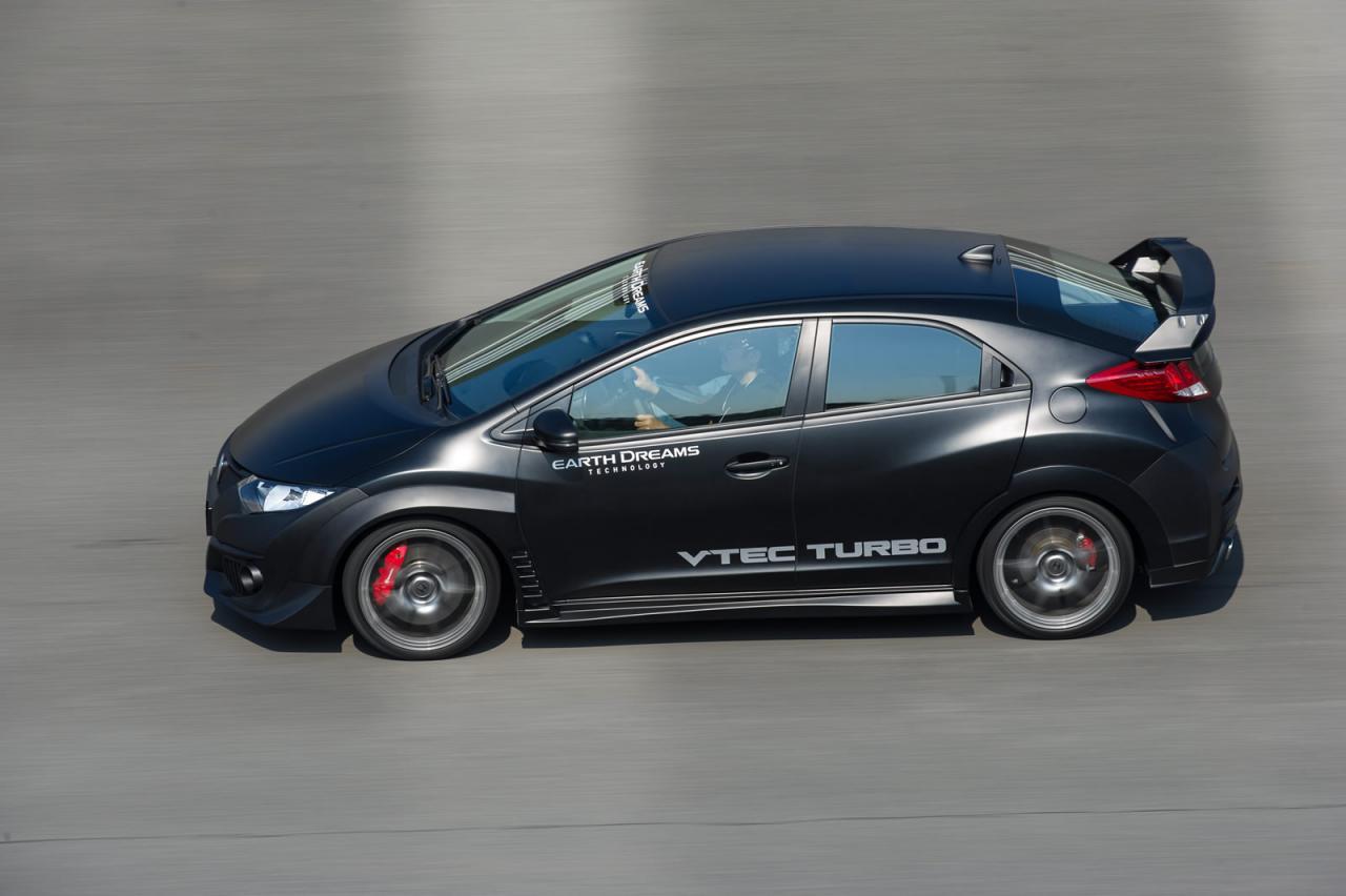 Honda nos enseña el nuevo Civic Type-R propulsado por un motor VTEC Turbo