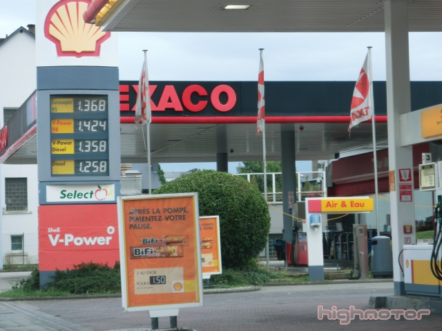 gasolina en luxemburgo
