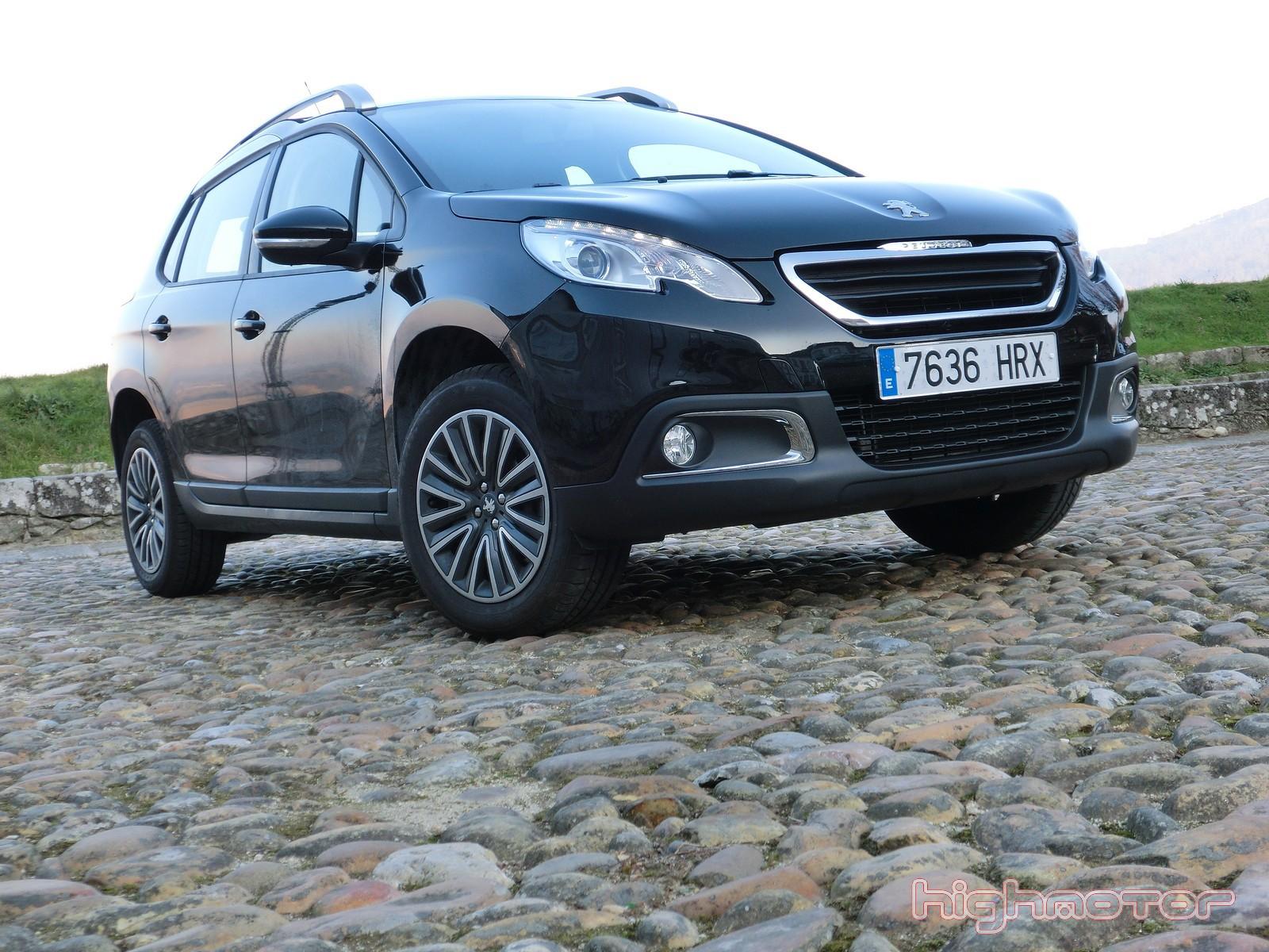 Peugeot 2008 1.2 VTi 82 CV, prueba (Diseño exterior, interior y acabados)
