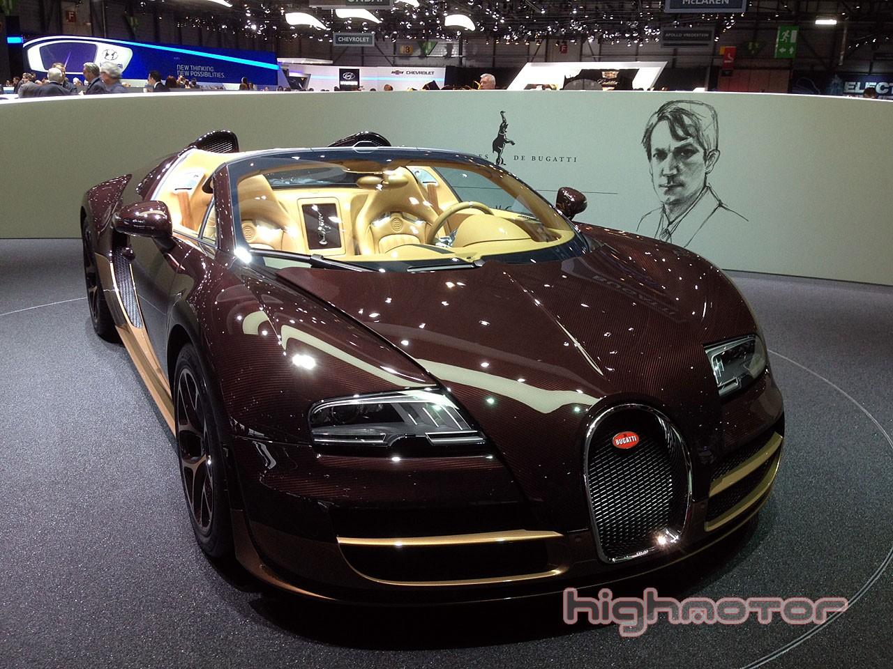 Bugatti prepara un sucesor del Veyron para 2015