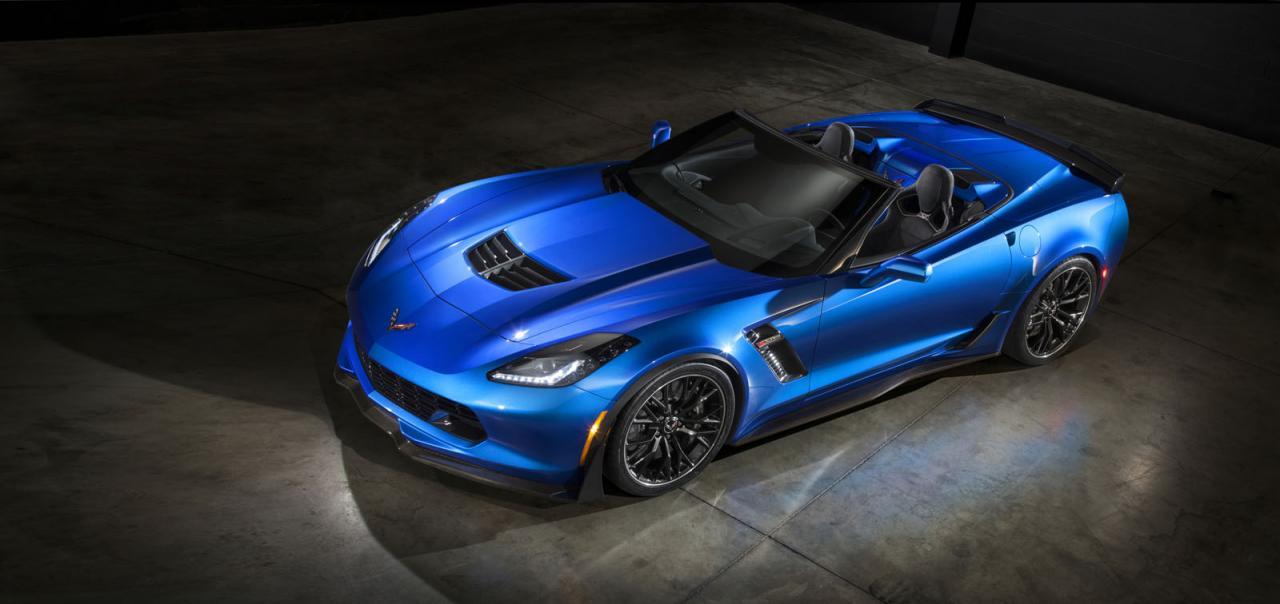Chevrolet nos enseña el nuevo Corvette Z06 Convertible