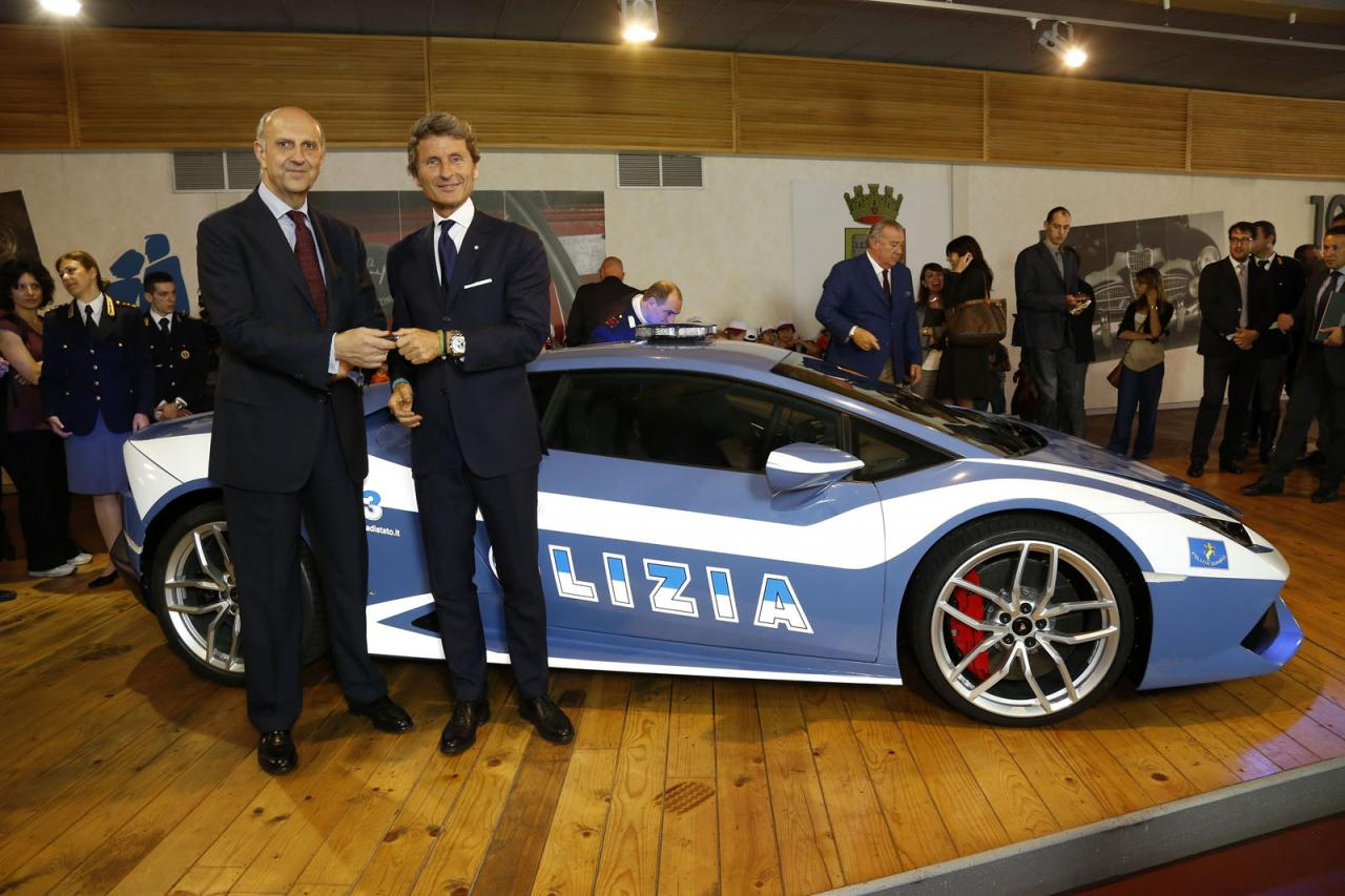 La policía italiana estrena un Lamborghini Huracan LP 610-4