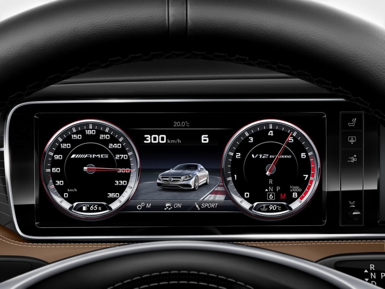 Mercedes-Benz S65 AMG Coupe: la cumbre de la estrella