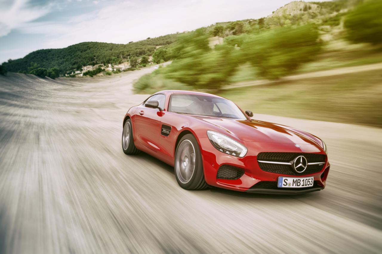 Mercedes-Benz desvela el AMG GT