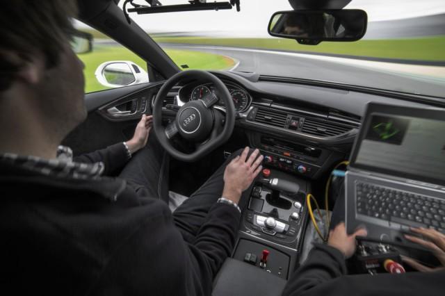 Audi RS7 conducción sin piloto 9