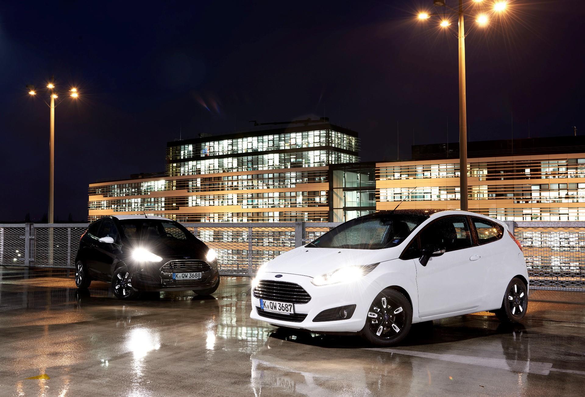Nuevas ediciones Black y White de los Ford Ka y Fiesta
