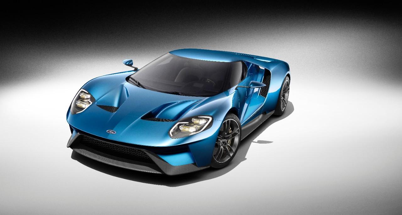 Nuevo Ford GT, un supercoche de fibra de carbono