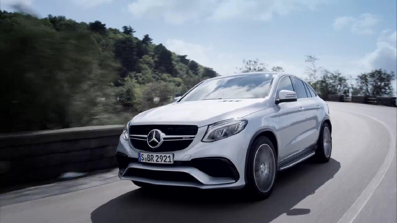 Mercedes revela el GLE 63 AMG Coupé y anuncia la aparición del SUV en Jurassic World