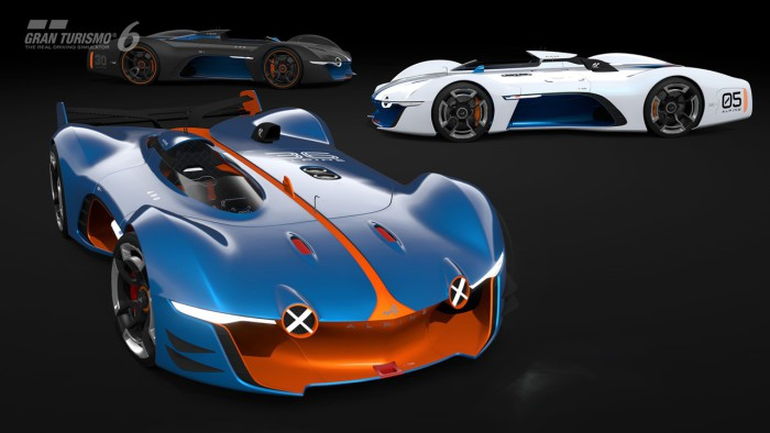 Alpine Vision Gran Turismo 10