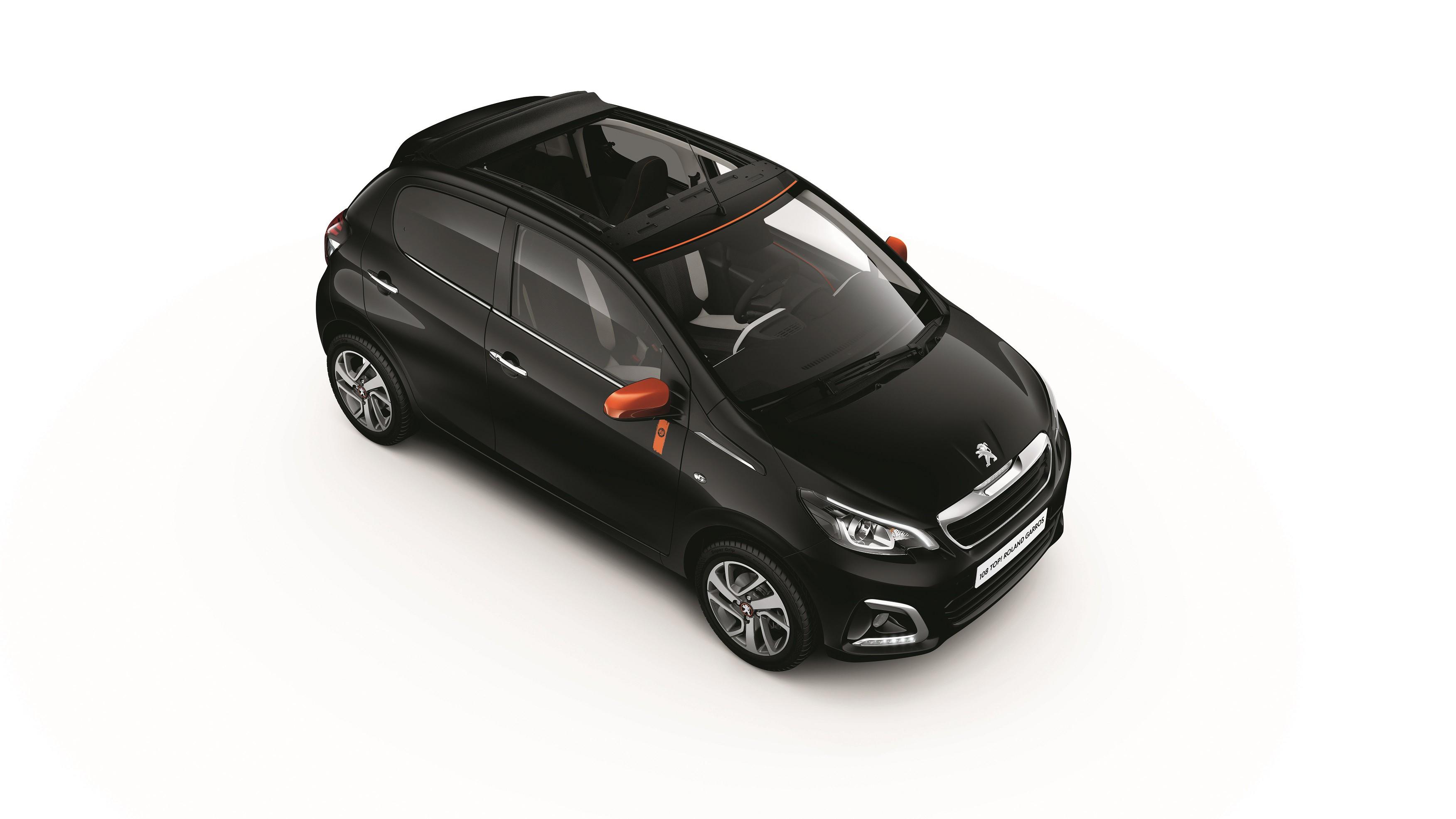 El Peugeot 108 Roland Garros también sale a la venta en España