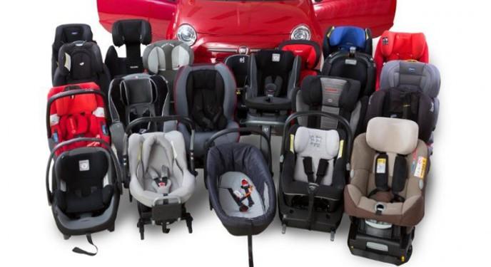 Más de la tercera parte de las sillas infantiles suspende la evaluación de la RACE