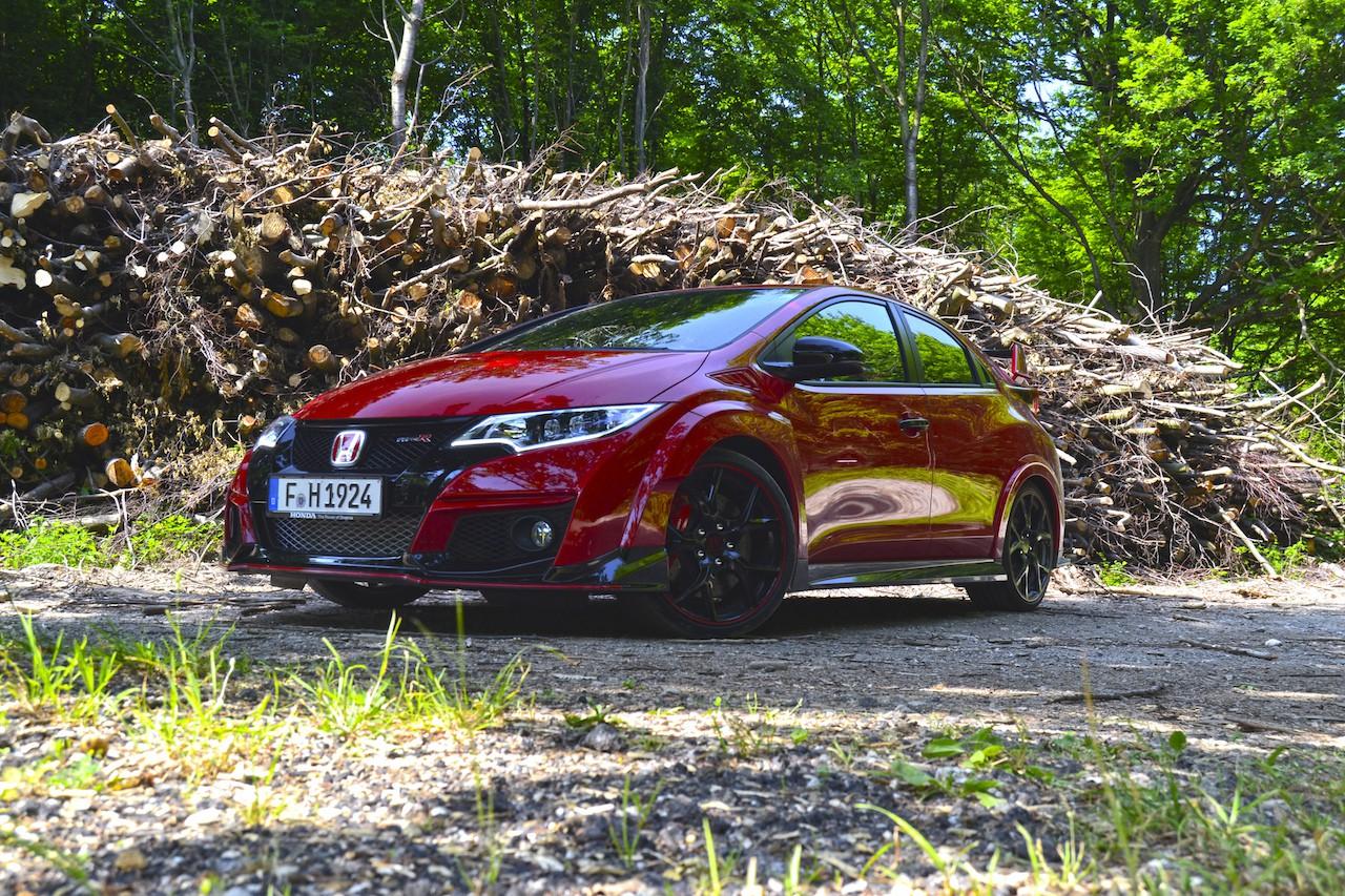 Honda Civic Type R, presentación y prueba en Bratislava