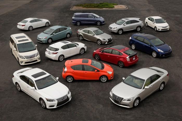 Toyota-hybrids-Japan