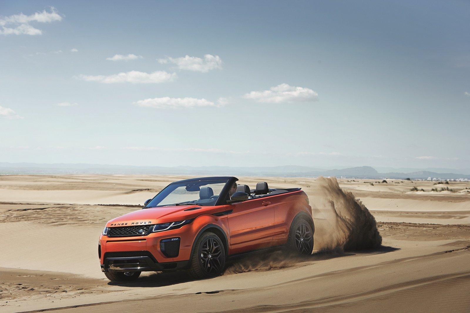 El Range Rover Evoque Convertible es, por fin, oficial
