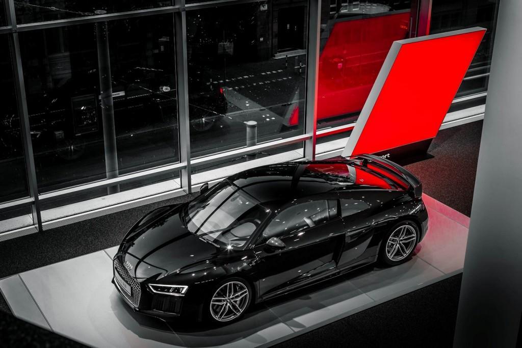 Un motor de 2.5 litros y cinco cilindros podría ser equipado en el Audi R8