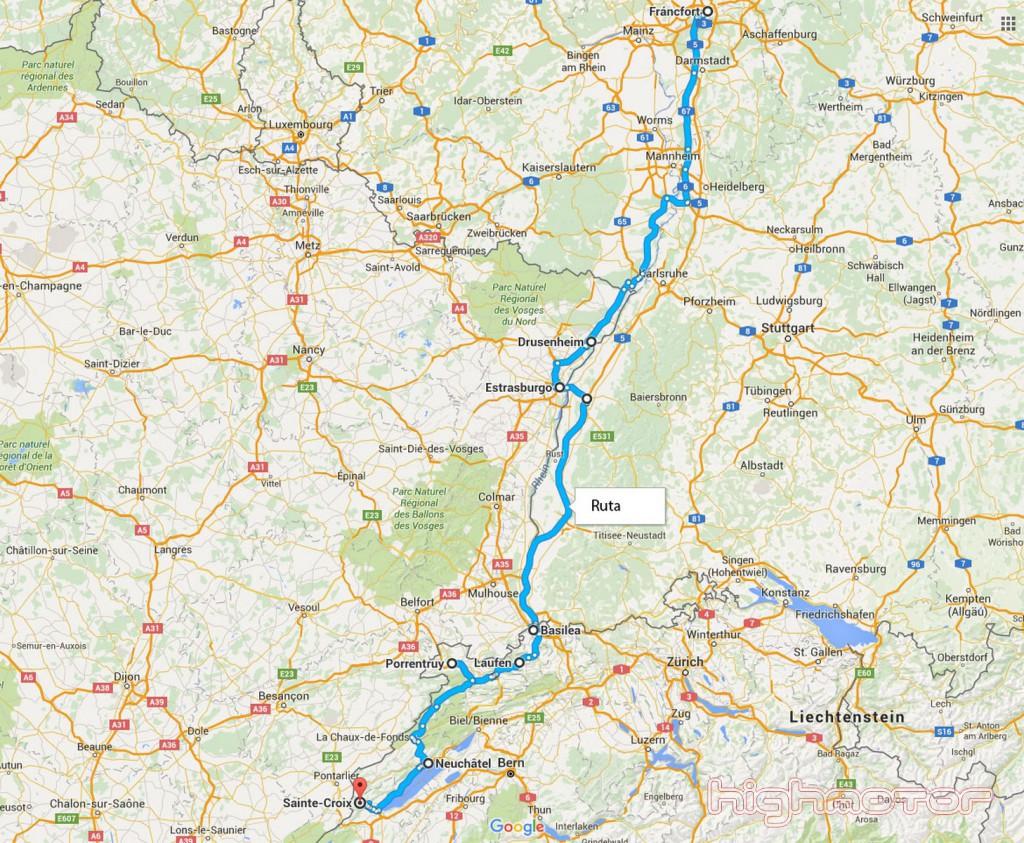 ruta suiza