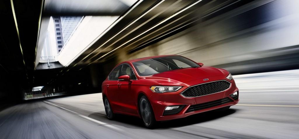 La revisión estética del Ford Fusion contará con una versión 'Sport' de 325 CV