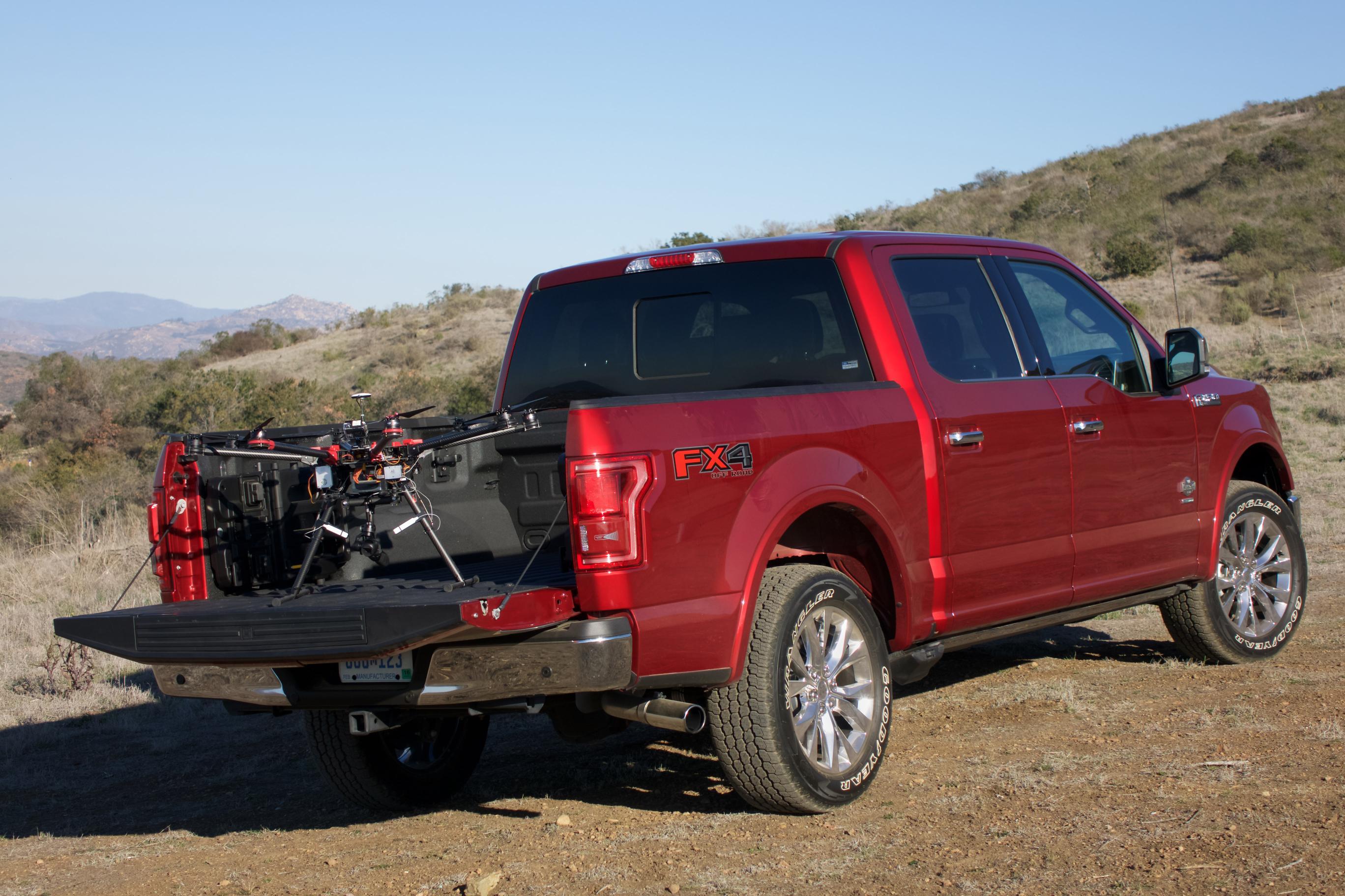 Ford y la conexión entre Dron y vehículo