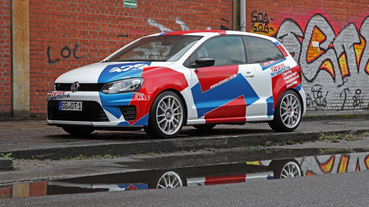 Volkswagen Polo R WRC por Wimmer. 420 caballos al eje delantero del utilitario