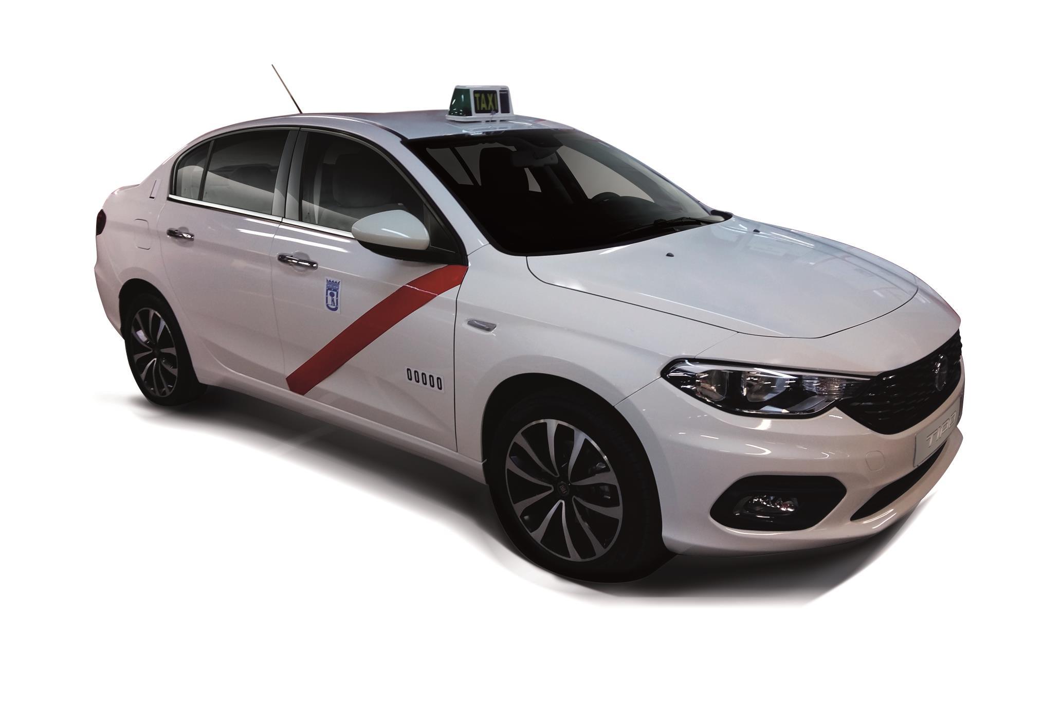 El Fiat Tipo ya ha sido homologado como Taxi para la capital española
