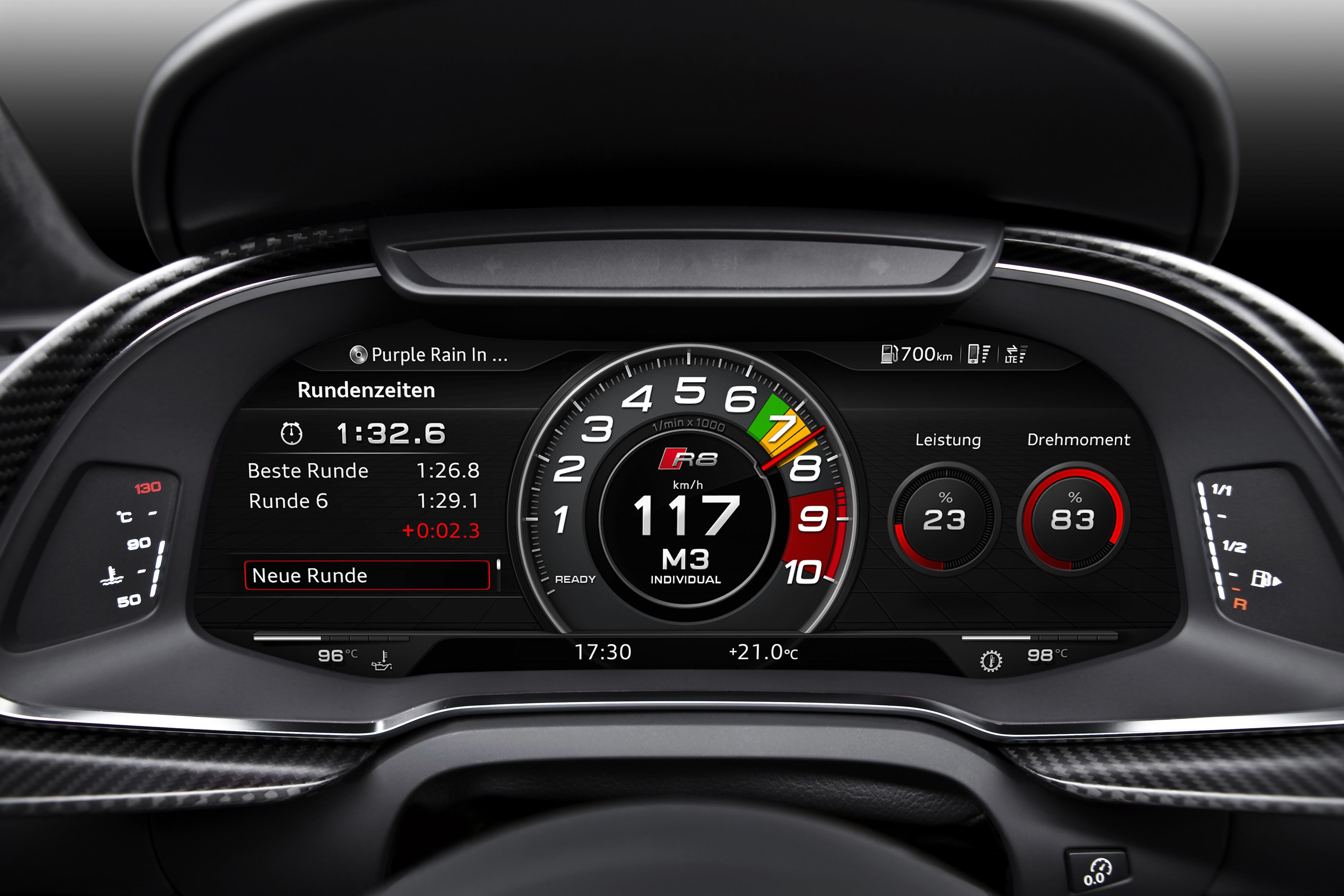 Audi repasa la evolución del puesto de conducción, de lo analógico a lo digital