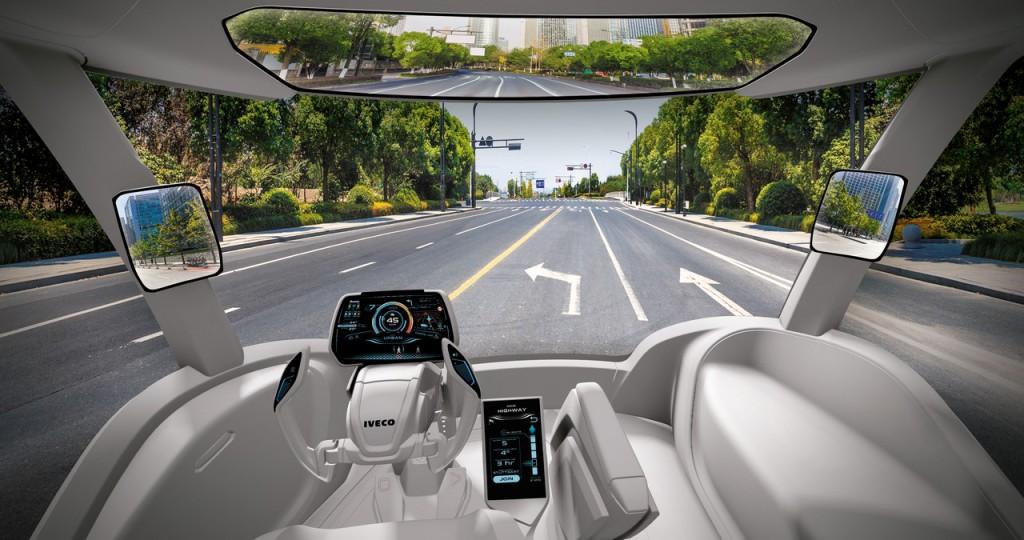Iveco Z Truck interior and HMI