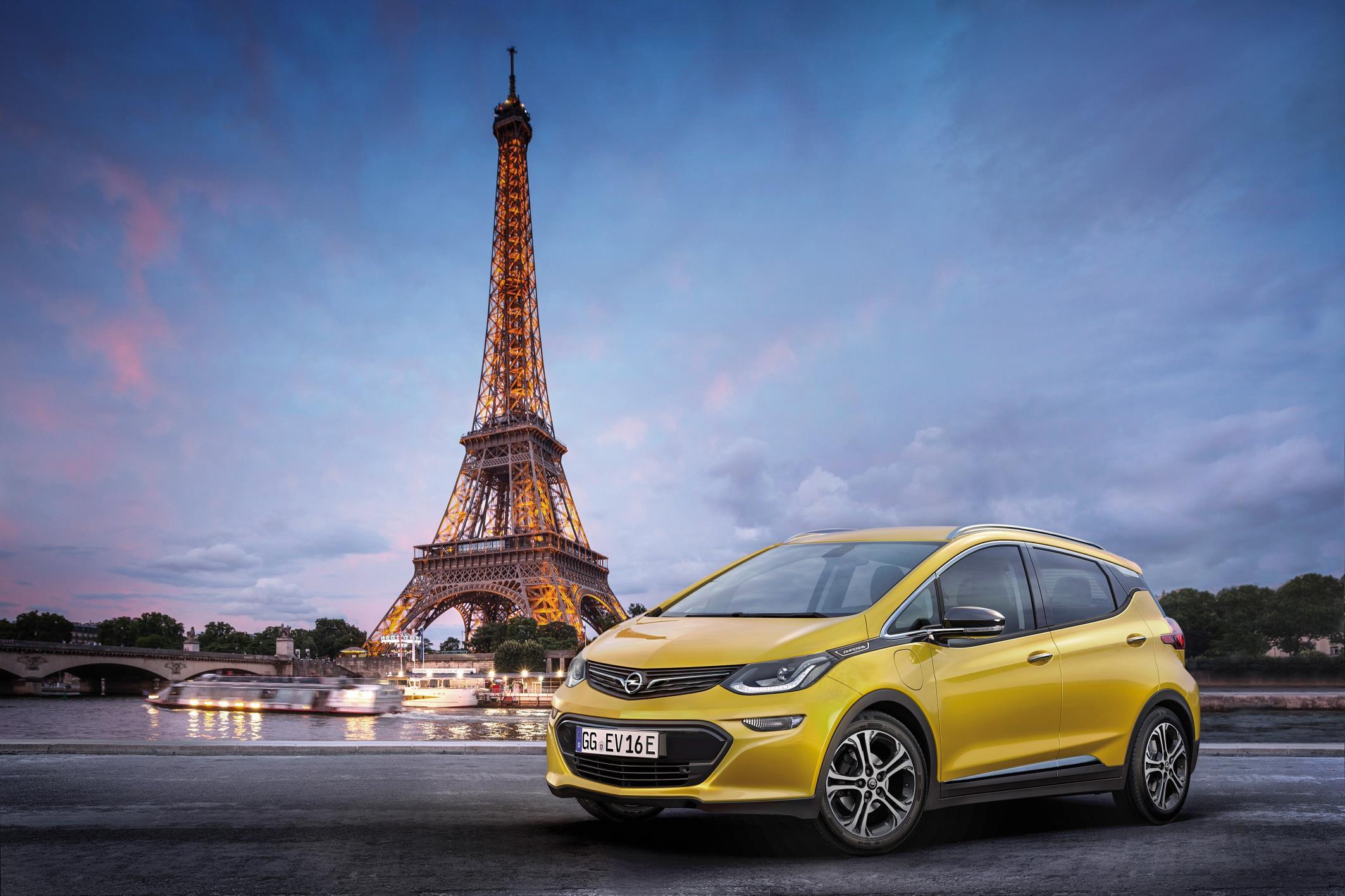 Opel mostrará el nuevo Ampera-e en el Salón del Automóvil de París