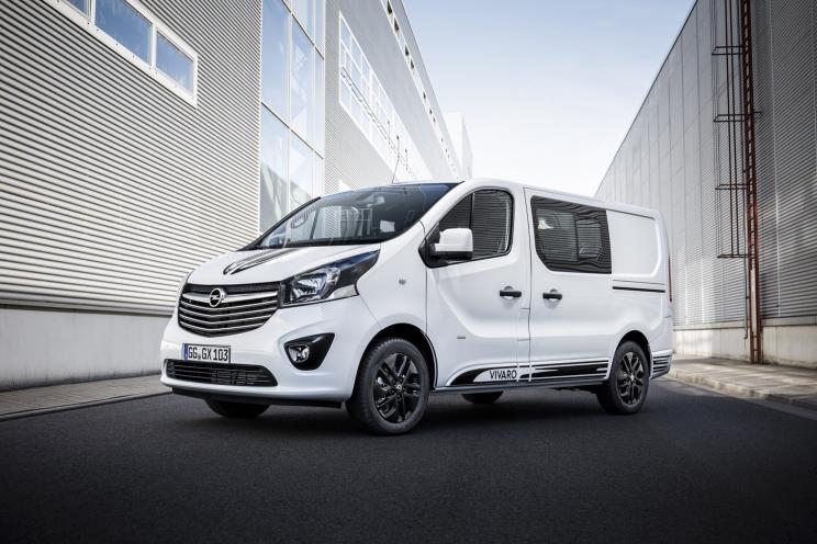 Opel Vivaro Sport, un vehículo comercial con aspecto deportivo