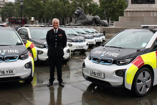 El Departamento de Bomberos de Londres encarga 52 BMW i3 a su flota