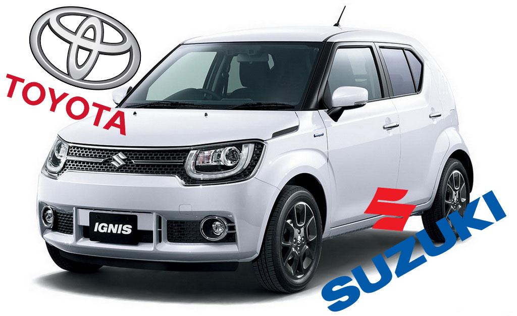 Toyota y Suzuki unen fuerzas para afrontar el reto tecnológico
