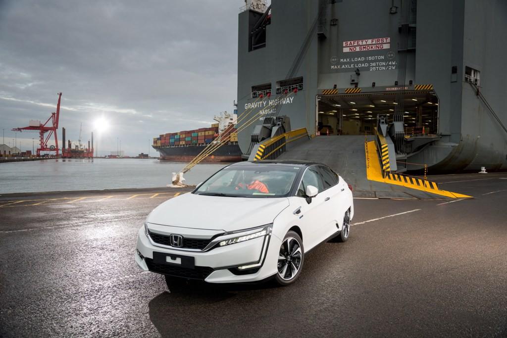 El Honda Clarity Fuel Cell con pila de combustible llega a Europa