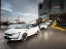 El Honda Clarity Fuel Cell con pila de combustible de hidrógeno llega a Europa
