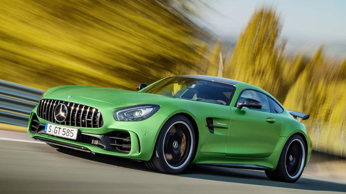 El Mercedes Amg Gt R Supera Al Porsche Spyder En Nurburgring