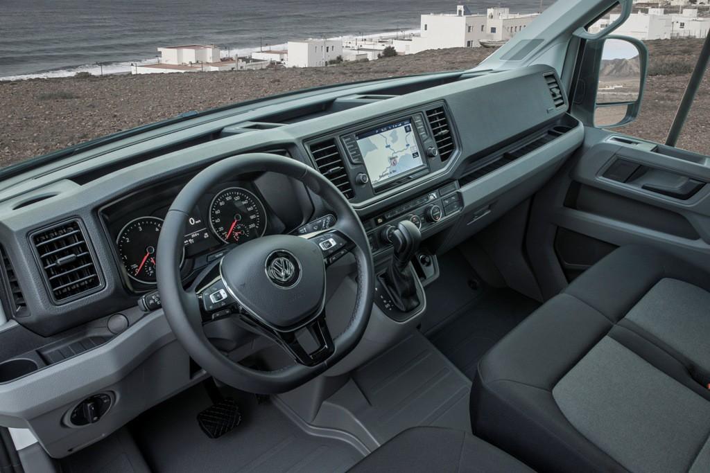 Arranca la comercialización en España de la Volkswagen Crafter a precios competitivos
