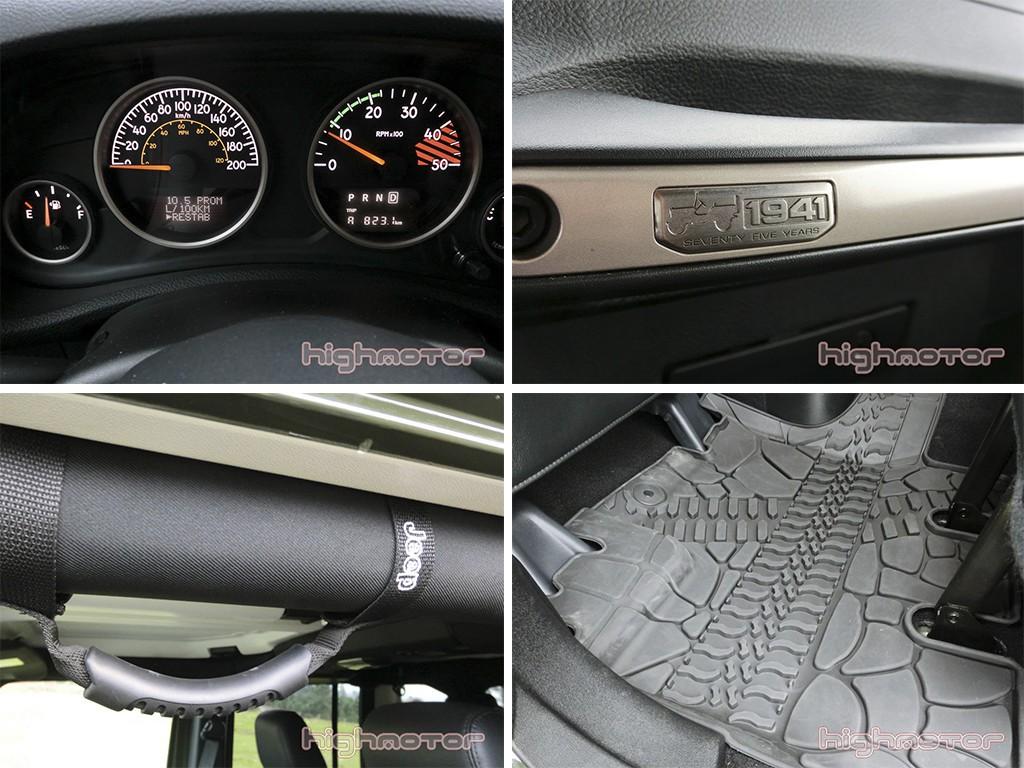 detalles interior wrangler