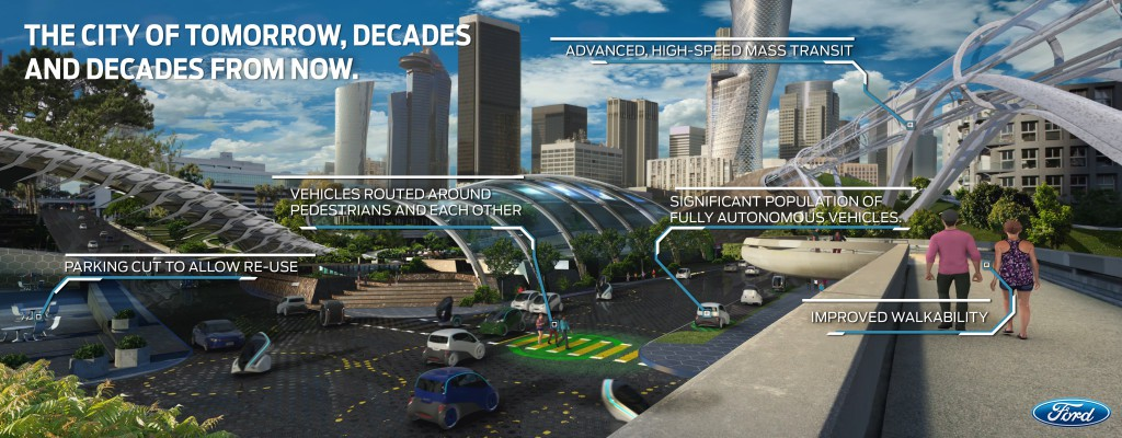 The City of Tomorrow, Decades and Decades From Now with callouts