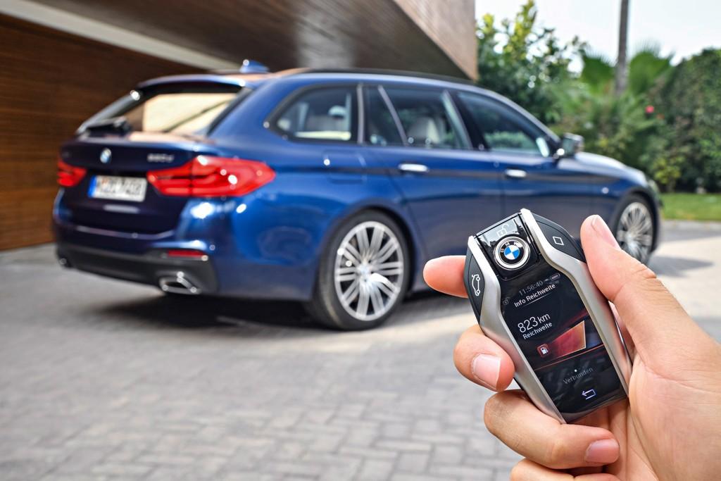 BMW Serie 5 Touring, sus primera imágenes antes de su debut en el Salón de Ginebra