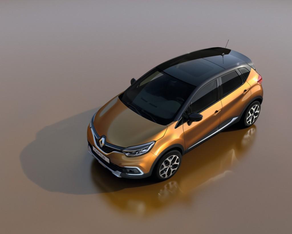 Aire fresco para el Renault Captur con un pequeño restyle