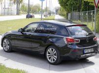 Cazado el BMW Serie 1 realizando pruebas antes de su restyle