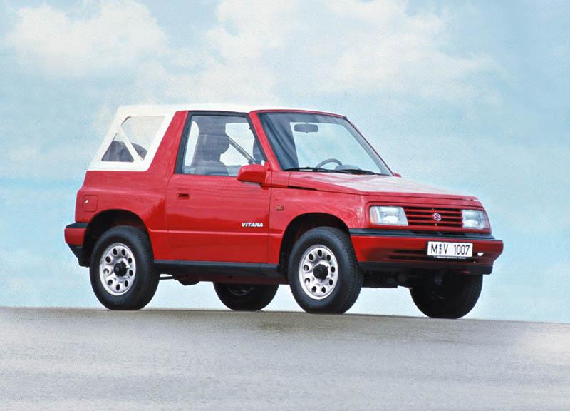 Suzuki Vitara 30 años de historia