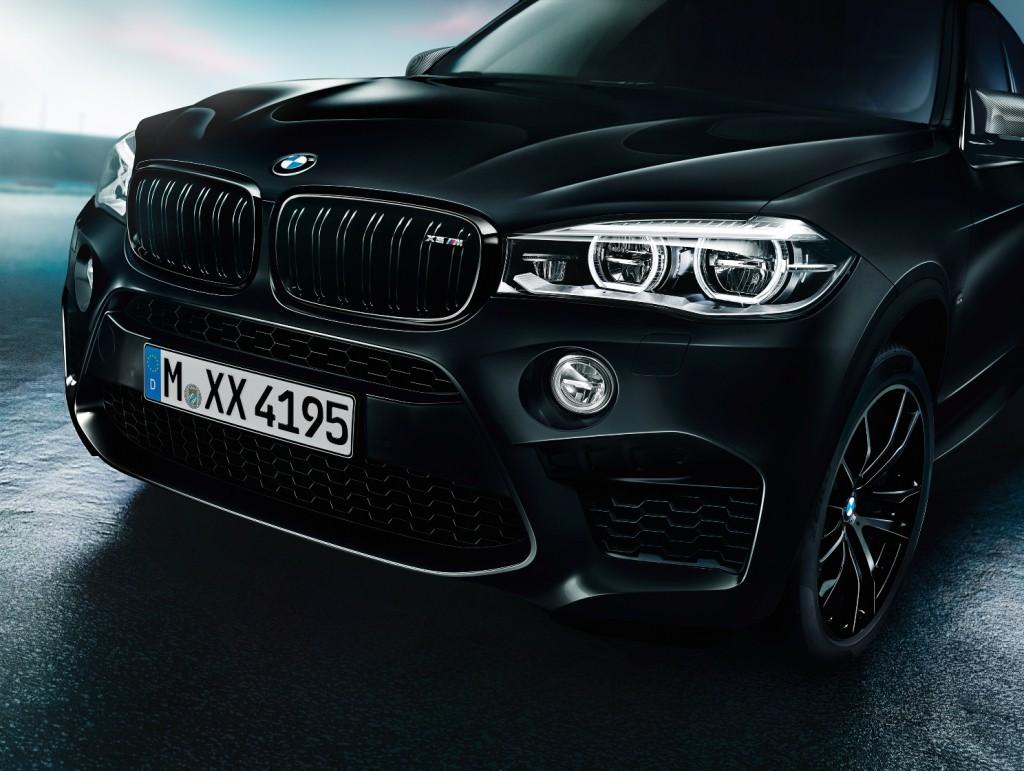 BMW X5 M y BMW X6 M Black Fire Edition, toda la apuesta al negro