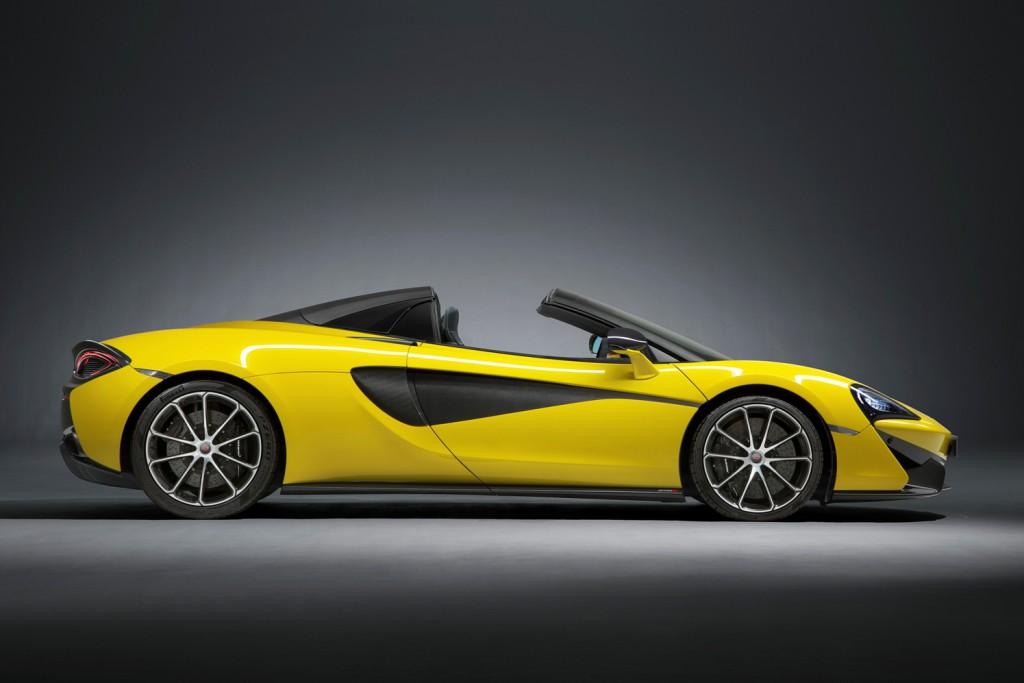 McLaren 570S Spider, 570 CV para hacer mecer tu pelo al viento